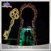 [لد] شمعيّة يزوّد عيد ميلاد المسيح زخرفيّة خارجيّة عطلة خيم أضواء