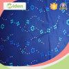 Tessuto di maglia operato dell'azzurro reale con i Sequins dei branelli per le tende