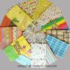 Sacs promotionnels de papier Twisted de cadeau d'achats de petite impression