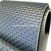 石造りか磨く機械のための黒いPVCカプセルのスタッドの軽い音のコンベヤーベルト