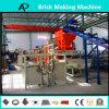 Bloque concreto automático completo del cemento que hace la máquina