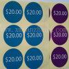 Precio a todo color, escritura de la etiqueta de precio con cualquie talla (SZXY 637)
