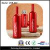 Discos instantâneos do USB do frasco de vinho, anunciando Pendrive (USB-009)
