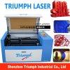 Mini cortador do laser para a máquina de estaca acrílica do laser do cartão de pano para o triunfo da venda
