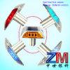 Marcador de piscamento Solar-Psto especial da estrada do parafuso prisioneiro da estrada da liga de alumínio da forma/diodo emissor de luz com haste