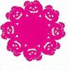 2016 Nieuw Kleurrijk Polyester Gevoeld Onderleggertje in Uitstekende kwaliteit