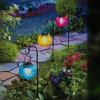 La lumière solaire décorative changeante imperméable à l'eau chaude de boule de la couleur DEL