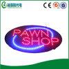 Signe acrylique flashant de la boutique de prêteur sur gages DEL