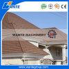 標準的、かとらわれ鉄片または平らなタイプ石または砂の上塗を施してある金属の屋根瓦