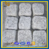 Серый обрушенный гранит вымощая камень кубика (YQZ-PS)