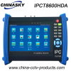 Red de CCTV Tester for analógico / Ahd / Tvi / CVI / Cámaras IP (IPCT8600HDA)