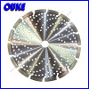 Silent Hole를 가진 Laser Welded Diamond Segment Saw Blade