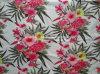 印刷される綿の伸張のサテン(Art#UCP114029)