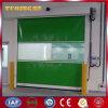 Puerta de alta velocidad de la persiana enrrollable de la tela industrial del PVC (YQRD0091)