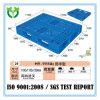 Pálete plástica perfurada aberta da plataforma inferior do preço 1100*1100 comparável