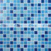 プールのタイル(BGE015)のための20X20mmの熱い溶解の青いガラスモザイク