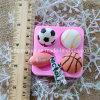 Torta R1056 que adorna diverso molde de la pasta de azúcar de los deportes del silicón de la forma de la bola