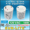 Cfls를 위한 전자 각자 Ballasted Lamp Adapters Used; Q-04A