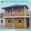 Pequeña casa prefabricada de dos pisos para la comodidad