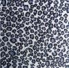 Flocage du papier peint de scintillement avec le point de léopard pour le matériau de décoration d'hôtel