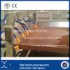 Macchina dell'espulsione di Decking della scheda di profilo del portello di WPC