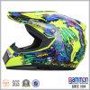 점 낙서 (CR403)를 가진 노란 Motorcross 헬멧