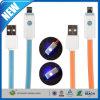 LEDの軽いマイクロUSB同期信号データ充満充電器ケーブル