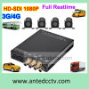1080P H. 264 4CH Mobile DVR con il GPS Tracking 3G WiFi