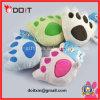 La felpa suave pata de oso juguetes para mascotas en el perro