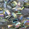 2*3 2*4 van 2.5*5 het Vlakke AchterAb Bergkristal van de Rechthoek voor Bruidssluier