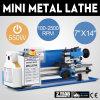 550W Machine van de Draaibank van het Metaal van de houtbewerking de Mini