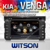 Coche Dve jugador para KIA Venga con 512m ROM DDR II