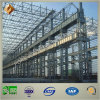 El edificio de la estructura de acero fabrica el taller