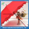 Weddingのための自動PU Coated Gift Flower Women Umbrella