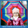 Color lindo Canopy Small Size Promotion Gift Sun y Rain Children Kids Umbrella Fancy Items