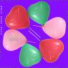 De opblaasbare Ballon van de Vorm van het Hart van de Kleurendruk voor het Spelen van Kinderen