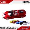 Q8c conjuguent téléphone cellulaire de modèle de forme de voiture de couleur bon marché à deux bandes de carte SIM mini