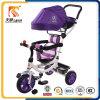 Neue populäre Art-justierbares Kabinendach-Sicherheits-Baby-Dreirad