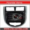 GPS를 가진 Hyundai Verna, Bluetooth에서 특별한 차 DVD 플레이어. (AD-6585)
