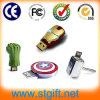 Выдвиженческий диск человека u утюга USB подарка может подгонять привод вспышки USB логоса