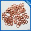 Personnaliser le joint en cuivre de rondelles de cuivre et les rondelles plates