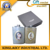 Matraz simple personalizado del metal para el regalo promocional (KF-005)