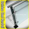 Barandilla de cristal de la escalera de la barandilla del acero inoxidable 304