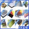 PET Farben-überzogenes Aluminiumpanel für Wand-Umhüllung
