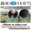 Gran diámetro del tubo de pared delgada de aluminio 5052 O