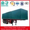 중국 Liangshan 공장은 3 차축 상자 트레일러 화물 트레일러를 반 공급한다