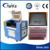 Gummiacrylpapier-CO2 Laser-Maschine für das Schnitzen des Preises