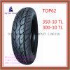 350-10tl, 300-10tl schlauchlos, lange Lebensdauer, Superqualitätsmotorrad-Reifen