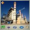 Alto edificio industrial de la estructura de acero de la subida para la central eléctrica