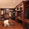 Cabinet en bois la Californie de chambre à coucher rouge de luxe d'Oppein (YG21115)